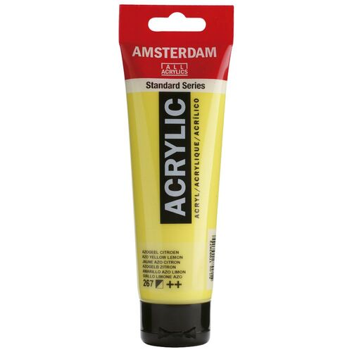 Acrylic Azo Yellow Lemon Paint 120ml - 267