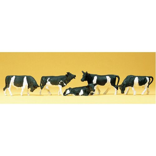 HO Scale Cows - 14155