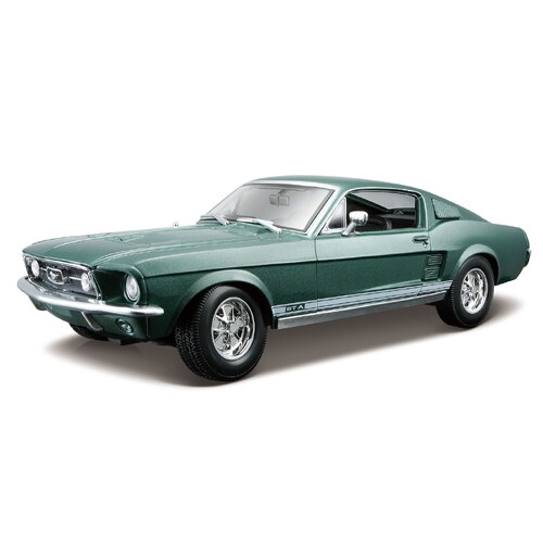 1:18 1967 Ford Mustang GTA Fastback, Green - 31166