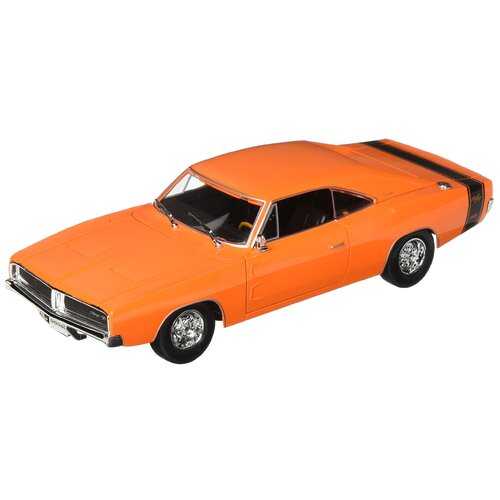 1:18 Scale 1969 Dodge Charger R/T, Orange - 31387