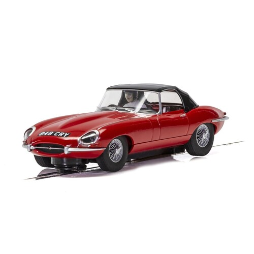 Jaguar E-Type, Red 848 CRY - C4032