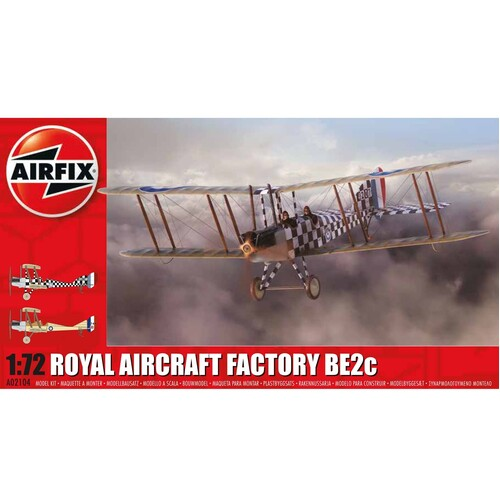 1:72 Royal Aircraft Factory BE2c Scout - 58-02104