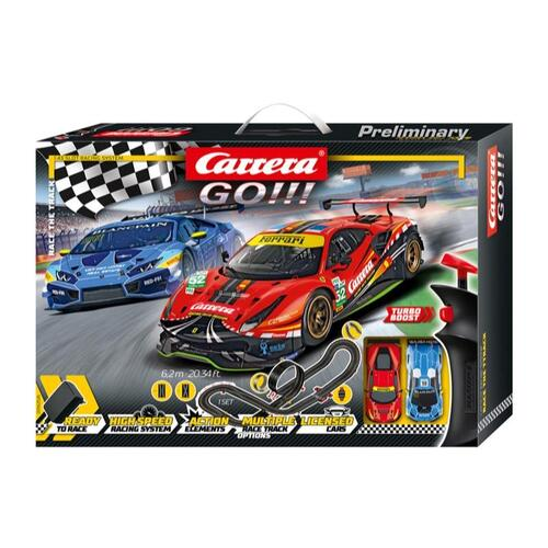 Go!!! Race the Track Slot Car Set - 62526