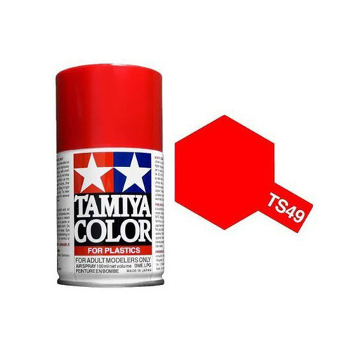 Lacquer Bright Red Spray 100ml - TS49