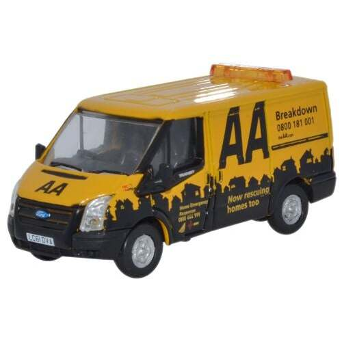 1:76 Ford Transit SWB Low Roof AA - FT016