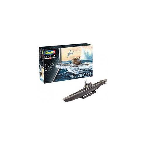1:350 Type VII C/41 German Submarine - 95-05154