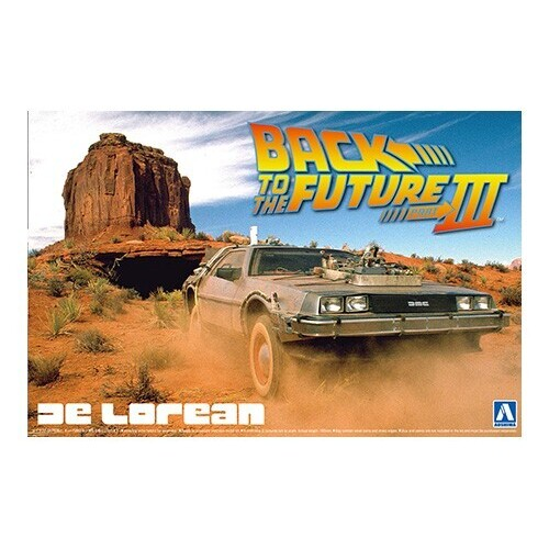 1:24 Back to the Future Part III DeLorean & Railroad Ver. - A005918