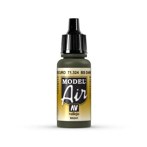 Acrylic Model Air BS Dark Green 17ml - 71324