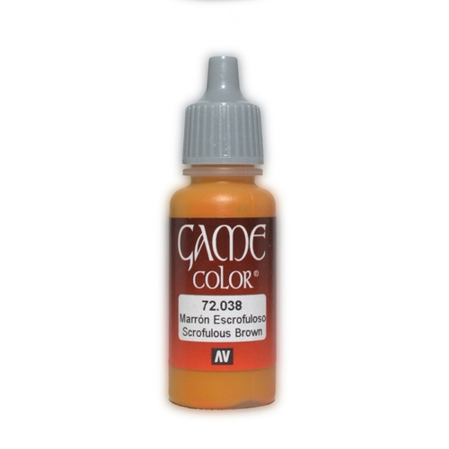 Acrylic Game Color Scrofulous Brown 17ml - 72038