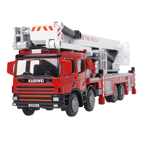 1:50 Aerial Fire Truck - KDW625014
