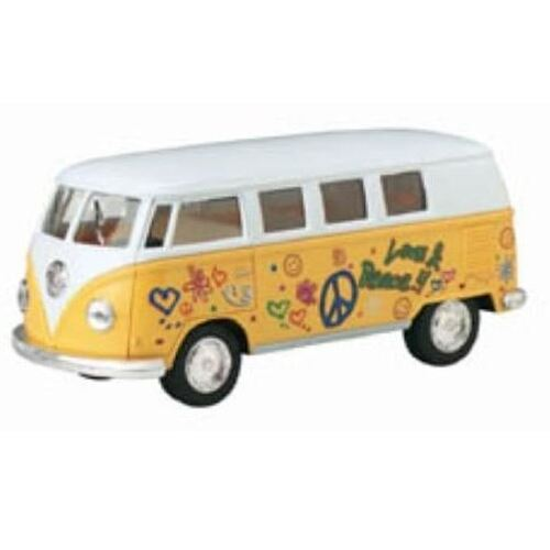 "1:32 5"" 1962 VW Classic Bus (Assorted Colours) - KT5060DF"