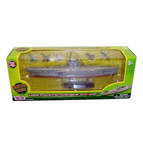 "9"" Diecast Aircraft Carrier - 76787"