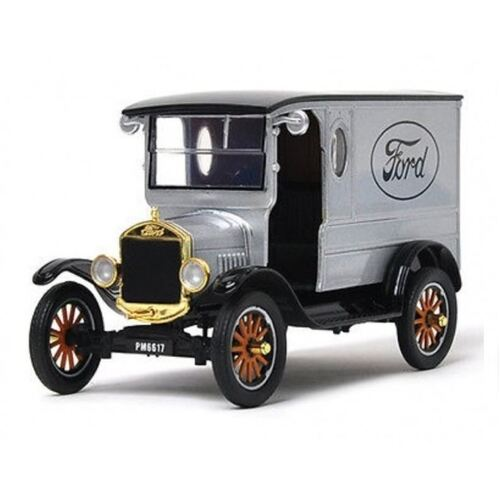 1:24 1925 Ford Model T Paddy Wagon Silver - 79329