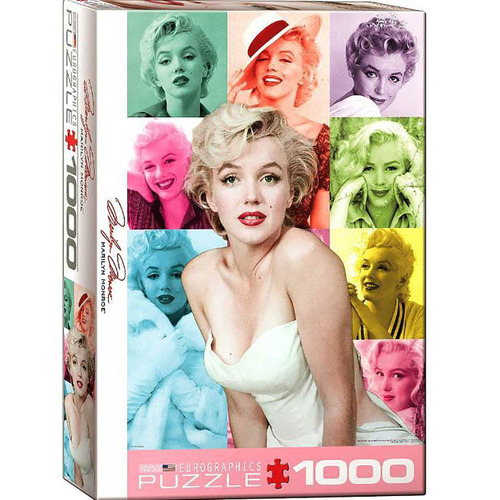 Marilyn Monroe Color Portraits 1000pc - EUR60811