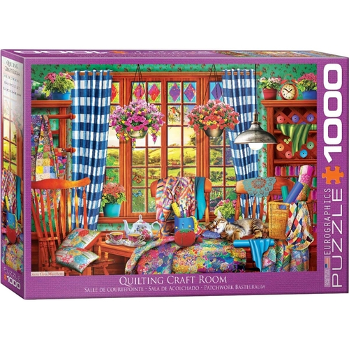 Quilting Craft Room 1000pc - EUR65348