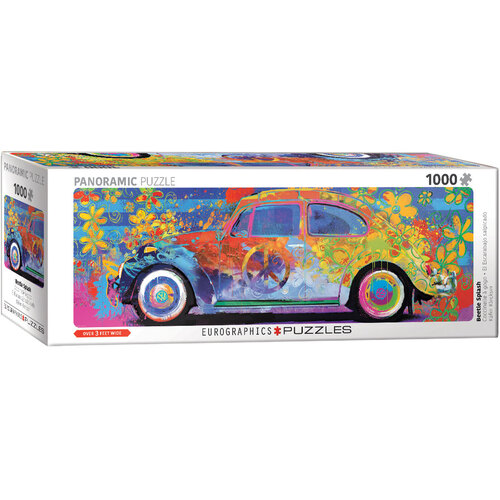 Beetle Splash Panoramic 1000pc - EUR65441