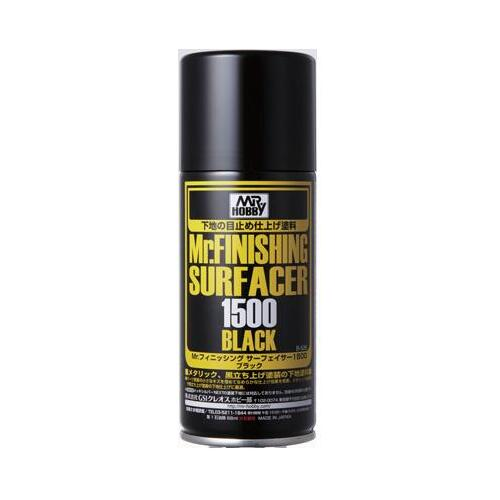 Mr.Finishing Surfacer 1500 Black Spray 170ml - GN B526