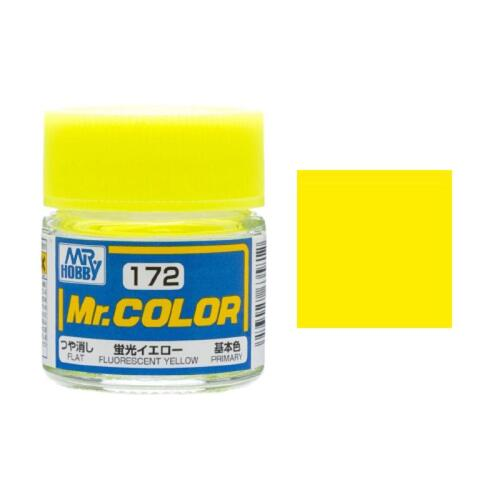 Lacquer Fluorescent Yellow (SG) 10ml - GN C172