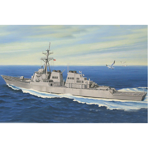 "1:700 Scale Navy DDG-51 ""Arleigh Burke"" Guided Missile Destroyer - 83409"