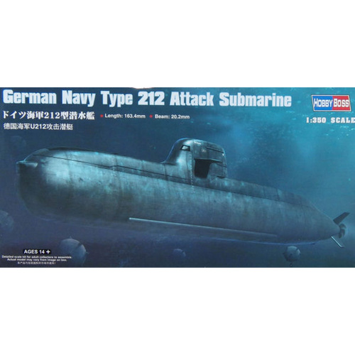 1:350 German Navy Type 212 Attack Submarine - 83527