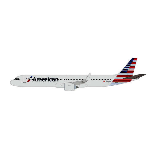 1:200 Scale Airbus A321neo American Airlines - 613019