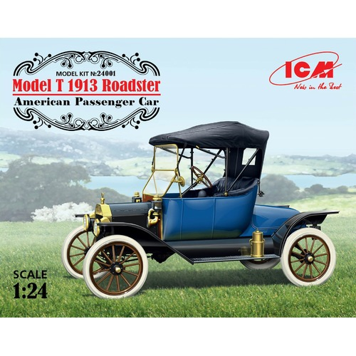 1:24  Model T 1913 Roadster American Passenger Car - ICM24001