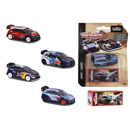 WRC single car w/ box (assorted styles) - 52327