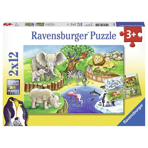 Animals In The Zoo 2 x 12pc - RB07602