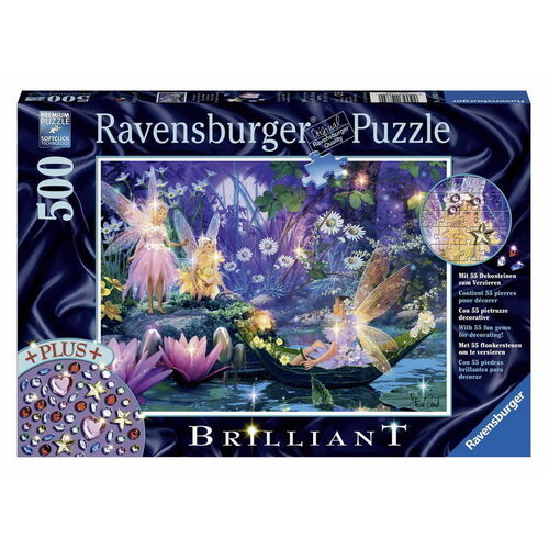 Fairy With Butterflies Brilliant Jewel 500pc - RB14882