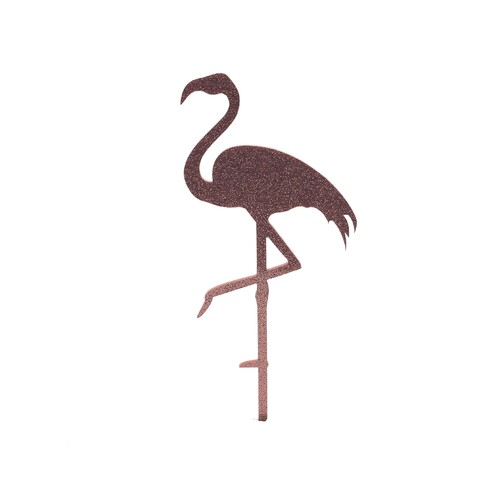 Pink Cake Topper Flamingo