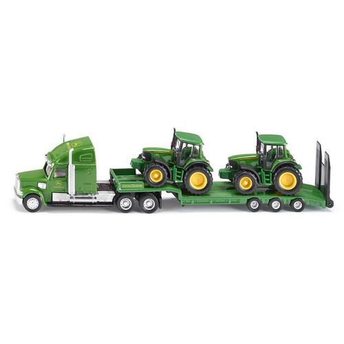 Low Loader w/John Deere Tractors - 1837