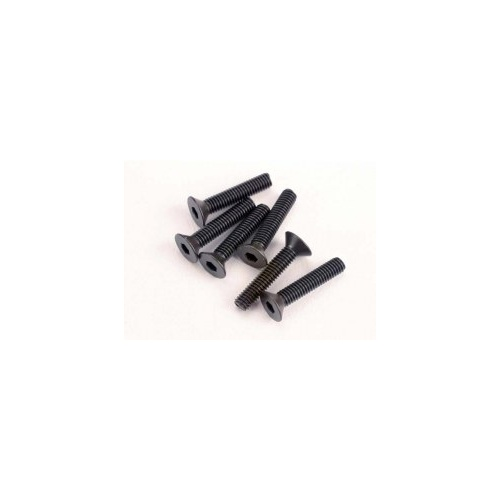 Screws, 3x15mm Countersunk, Hex Drive (6) - 2553