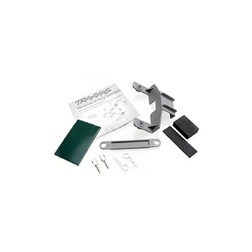 Battery/Receiver Hold-Down, Grey - 3627X